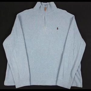 Polo Ralph Lauren 100% Cotton Stretch Sweater